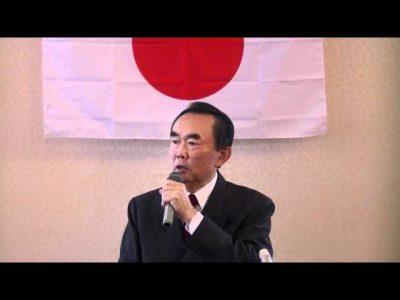 JSN■「シナの侵略から靖國・沖縄・台湾・日本を護る国民大集会」(8・14):来賓挨拶:平沼赳夫先生